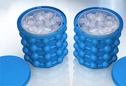 strumento freddo Sconti 2018 Ice Cube Maker Genie Silicone risparmio genio ghiaccio irlandese Estate freddo bevande strumento secchiello per ghiaccio in silicone