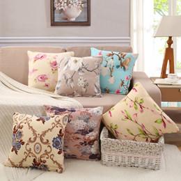 2019 ems decor Federa per cuscino decorativo a 16 colori per divano da viaggio Decor federe per cuscini da ufficio 45cm EMS FREE ems decor economici