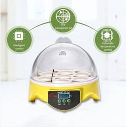 spine uniche Sconti Spedizione gratuita Unico Automatic 7 Eggs Turning Incubator Chicken Hatcher Controllo della temperatura Spina europea
