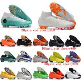 4e146be9972e8 2018 mens fútbol calas Mercurial Superfly KJ VI Elite Cristiano Ronaldo  Neymar FG zapatos de fútbol cr7 botas de fútbol scarpe calcio Cheap Ora