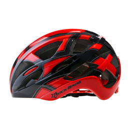 Wholesale material eps - Rockbros Bicycle Bike Cycling Helmet Eps +Pc Material Ultralight Mountain Bike Equipment 32 Air Vents With 3 Lenses Size :56 -62cm