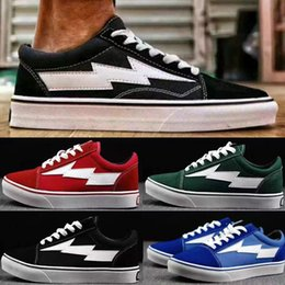 Wholesale Checkered Skate Shoes - 2018 new Revenge X Storm Old Skool Training Sneakers,wholesale 2017 new Mens Womens Fashion Casual skate shoes,Retro Sports Running Boots