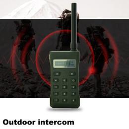 Wholesale remote control birds - Hunting Bird Sound Bird Voice Portable Walkie Talkie Remote Control Hand-held Radio Transceiver Outdoor With External Speaker