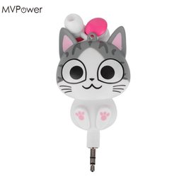 f17760112a138a China MVpower 3.5mm Cute Cartoon Cat Panda 3.5mm Wired Retractable In-Ear  Earphones