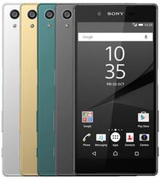 Xperia on-line-Desbloqueado Original Sony Xperia Z5 E6653 3G RAM 32G Dual SIM 5.2 recondicionado telefone