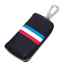 piccole borse per chiave uomo donna multi colori Portafogli per chiavi in pelle di design con cerniera in pelle multifunzionale da pelle di renault fornitori