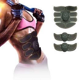 Électrique EMS Stimulateur Musculaire ABS Muscle Abdominal Toner Corps Remise En Forme Shaping Massage Patch Siliming Trainer Exerciser Unisexe ? partir de fabricateur