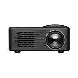 Filmes de teatro on-line-RD-814 LED Mini Projetor 320 x 240 Home Theater Proyector Suporte 1080 P Portátil VS YG300 Perfeito para o Filme
