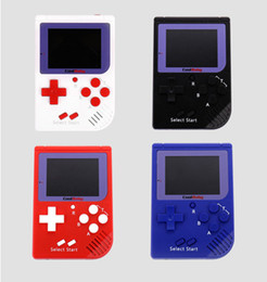 Wholesale fc game console - CoolBaby RS-6 Portable Retro Mini Handheld Game Console 8 bit Color LCD Game Player For FC Game free DHL