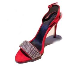 2018 frauen glitter party schuhe Diamant stud sandals hochzeit schuhe strassandalen offene spitze kristall sandalen funkeln high heels von Fabrikanten