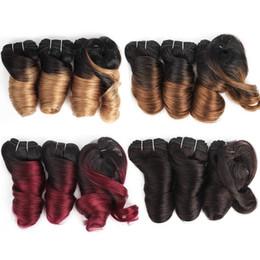 Kısa Ucuz Ombre İnsan Saç Örgüleri Vücut Dalga Romantizm Curl 8-10 Inç 3 Adet / takım Malezya Hint Gevşek Dalga Remy İnsan Saç Uzantıları nereden