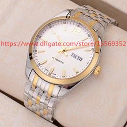 40MM Clásico negocio de la vendimia importaciones de importación de lujo importado avanzado automático reloj de la correa de acero a prueba de agua reloj de los hombres desde fabricantes
