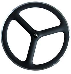2019 räder scheibe Full Carbon 700C Vorne Legierung Bremsfläche Tri-Speichen Track Wheels Hinten Disc Carbon Räder 23mm Breite Track Bike Wheelset günstig räder scheibe