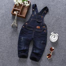 f7c7fd798542 Children s Clothing Toddler Overalls Pants Denim Overalls For Girls Boy  2018 Child Jumpsuit Jean fashion New Kids Infant Boy 1-4