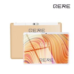 QERE Tabletler 10.1 Inç 10 Çekirdek 4G + 64G Android 8.0 WiFi IPS Bluetooth MTK6797 3G WiFi Çağrı Telefonu Tablet pc cheap tablets call nereden tabletler çağrısı tedarikçiler