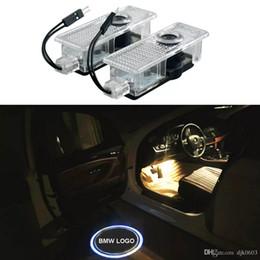 Argentina 2 unids LED Puerta de Coche Cortesía Proyector Logo Luz Para BMW E60 M5 E90 F30 F10 X5 X3 X6 X1 GT E85 E70 E71 E81 E82 E93 E93 F15 F16 Suministro