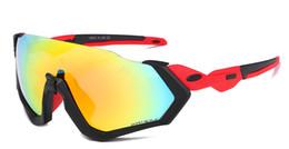 2019 cajas de liquidación Nueva marca Polarized Cycling Sunglasses Sports Sunglasses Prueba de viento Cycling Sunglasses Golf Running Pesca Unbreakable TR90 Marco con caja rebajas cajas de liquidación