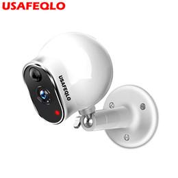 Cámaras de seguridad inalámbricas online-Cámara IP sin hilos de la batería de USAFEQLO Cámara IP al aire libre sin hilos de la seguridad IP de la intemperie al aire libre Full HD 960P