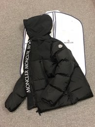 Site officiel de la nouvelle collection M hommes hiver doudoune en duvet  Parkas à capuche M logo accrocheur attrayant Veste en duvet épaissie 763104f1261