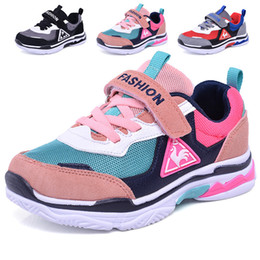 scarpe da passeggio a fondo duro Sconti 2018MD Bottom Tempo libero bambini Sneakers all'aperto Studente a piedi scarpe da corsa Sneakers ragazza