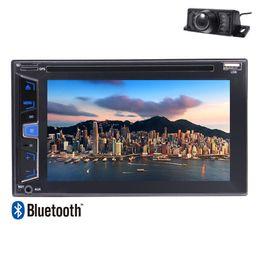 "Wholesale French Logos - Backup Camera+Eincar In Dash Stereo Autoradio 2 Din 6.2"" car DVD Radio Bluetooth USD 1080P Car Logo Remote Control Multiple UI Switching"