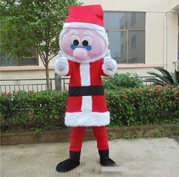 a9c44d816e0 2018 Hot sale new adult santa claus mascot costumes christmas dress for  party good quality free shipping can be customized