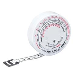 150 cm Cinta de medición del índice de masa corporal Retráctil Milestone Medidas de pérdida de peso Medidor de la dieta métrica Calculadora Herramientas desde fabricantes