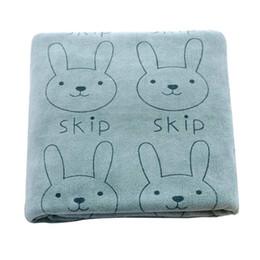 Wholesale Beach Hood - QIANQUHUI Cute Microfiber Absorbent Drying Bath Beach Towel Washcloth Swimwear Towel Child baby with hood