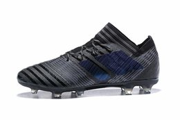 Wholesale Mens Messi Shoes - Mens Football Boots NEMEZIZ FG Soccer Shoes Tango 17.3 AG IC TF Messi NEMEZIZ 17 360 Agility Superfly Soccer Cleats