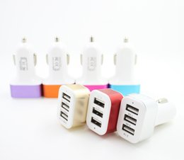 2019 batería ipad de apple Cargador para coche, adaptador de cargador de cigarrillo USB para 3 puertos Rapid USB Cargador de cigarrillo para Apple Iphone 6/6 + / 6s / 6s + / 5 / 5s / 5c, Ipad Air, Ipad Mini batería ipad de apple baratos