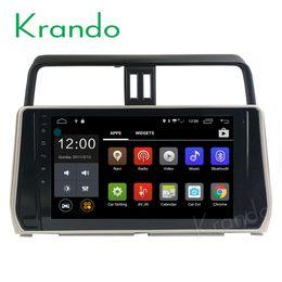 "toyota prado radio din NZ - Krando 10.1"" Android 7.1 car dvd navigation multimedia system for toyota prado 2018 audio radio gps dvd palyer WIFI 3G DAB+"
