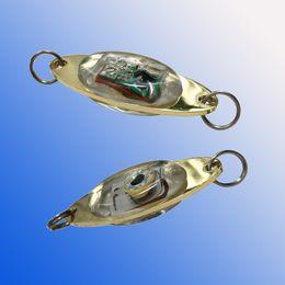 ha guidato la pesca calamari Sconti LED Ganci da pesca LED Deep Drop Underwater Eye Shape pesca calamari pesce Lure luce lampeggiante