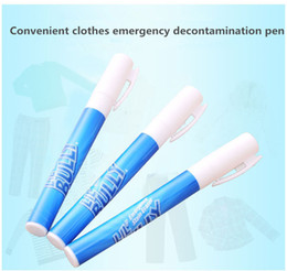 Wholesale cleaning magic stick - Creative magic portable clothes decontamination pen magical emergency clothing multi-functional dry cleaning stain pen decontamination stick