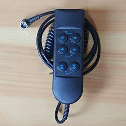 Argentina Seis botones Manija Auricular Control remoto Motores dobles Cama eléctrica Bastidor de metal Base Base Aumento Ajustable Colchón Levantar Elevar Cabeza Pies Suministro