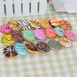 nevera individual Rebajas Donuts de Europa Donut Fresa Chocolate Galletas Imanes de Nevera Simulación Refrigerador de Alimentos Pegatinas Magnéticas Regalos del Favor de Partido QW7179