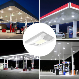 Wholesale Led Flood Lights Gas Station - 60W 100W 130W 150W LED Canopy Lights Outdoor led flood light Gas Station Lamp High Bay light AC 100-277V UL DLC Listed