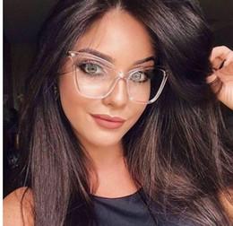 RSSELDN Vintage Lunettes Cadres pour Femmes Marque Mode Unisexe Lunettes Cadres pour Hommes Verre simple Chat'S Eye Glasses Cadre ? partir de fabricateur