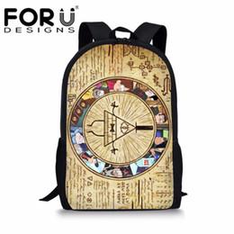 738c48f6078a падать в школу Скидка FORUDESIGNS гравитации падает печати школьная сумка  рюкзак подросток школа S девушки школьный