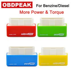 Argentina Nitro eco OBD2 Benzine Chip Tuning Box Plug Chip Tuning Box y Drive Full Chips NitroOBD2 Diesel Car Performance Más par de torsión Suministro