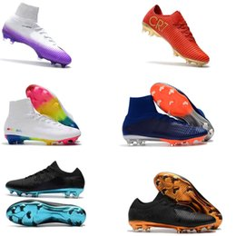 5fc309b39 Football Boots Mercurial CR7 Superfly V SX Neymar FG New Soccer Shoes High  Top Mens Soccer Cleats Cristiano Ronaldo Real Madrid discount cr7 boots
