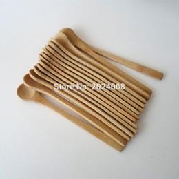 2020 miel cuchara de madera al por mayor Stocked Wholesale 15pcs 7 .5inch Cuchara de madera Ecofriendly Japón Vajilla Cuchara de bambú Cuchara Café Miel Té Cucharón Agitador La mejor calidad rebajas miel cuchara de madera al por mayor