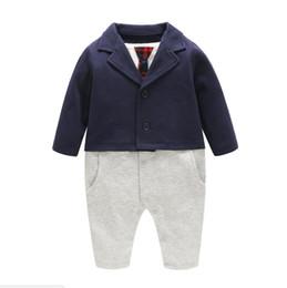2019 casamento vermelho do laço da camisa preta New Arrival Boy's Formal Wear Crianças Vestido Formal Vestido Azul Marinho Gentleman Baby Jumpsuit