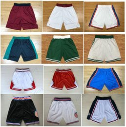 Wholesale Ivory Logo - 2018 New Quick-dry Running Basketball Shorts Tune Squad Mens Shorts Best Quality Embroidery Logos Basketball Pants Breathable