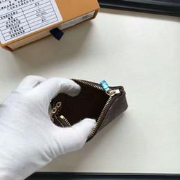 cosméticos saco grosso denim Desconto 2018 Empreinte mulheres de couro curto Zipper Clutch Coin carteiras 38 bolsa titular do cartão 62630, 62650 com sacos de caixa
