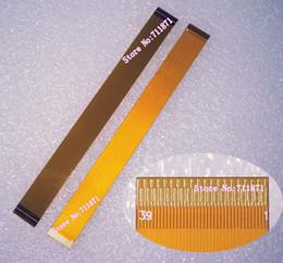 ffc câble fpc Promotion 120mm Plaqué Or 0.3 Pas 39P FPC Câble 12cm Espacement 0.3mm 39Pin FFC Câble Ligne 0.12M 0.3mm Pas 39 Broches FFC FPC Cordon