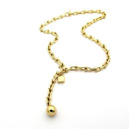 Heiße Art und Weise u-Art Doppelschichttitan-Stahlhalskette 18K Goldrosen-Silberhalskette mit dem modernen Geschenksatz verwendbar für Geschenke von Fabrikanten