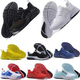 2019 tops roxos nike air Presto 5 Ultra BR QS triplo Preto Branco Amarelo Roxo Vermelho Tênis Para As Mulheres Homens Top Prestos V Casual Sports Sneakers 36-46 tops roxos barato
