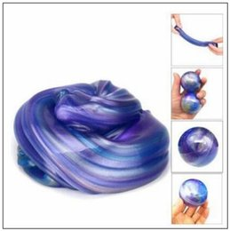 Wholesale Funny Modeling - New Blowing Bubbles Crystal Slime Colourful Mud Modeling Clay Draw Slime Kids Funny Toy Magnetic Mud Intelligent Plasticine CCA8501 300pcs