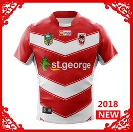 Wholesale George Shirts - ST GEORGE ILLAWARRA DRAGONS ALTERNATE 2018 2019 NRL National Rugby League nrl Jersey Australia shirt s-3xl