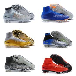Zapatos de fútbol para hombre Super Mercurial Superfly VI Elite TF IC  Hombres Zapatos de fútbol para fútbol CR7 Cristiano Ronaldo 360 181b937dbb700